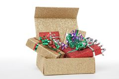 X-Mas Presents Royalty Free Stock Photos