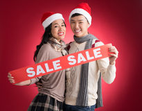 X-mas sale Royalty Free Stock Image