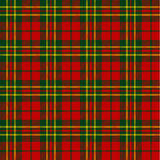 X-mas seamless tartan pattern Stock Photos
