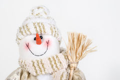 X-mas snowman Stock Photos