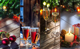X-mas theme mix Stock Photography