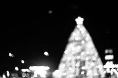 X'mas tree bokeh Royalty Free Stock Photography