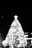 X'mas tree bokeh Royalty Free Stock Images