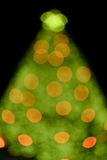X'mas tree bokeh Stock Photography