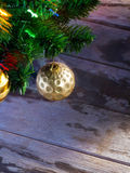 X-mas tree fragment Royalty Free Stock Photo