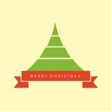 X-mas tree for Merry Christmas celebration occasion. Stock Photos