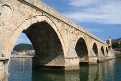 & x22;The Mehmed Pasha Sokolovic Bridge& x22; Visegrad, Bosnia and Herzegovina Royalty Free Stock Images
