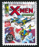 X-Men. UNITED STATES - CIRCA 2007: stamp printed by United states, shows X-Men, circa 2007 stock images