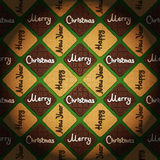 Merry Christmas & Happy New Year - vintage style background Stock Photography
