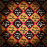 Merry Christmas & Happy New Year - vintage style background Stock Images