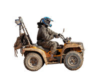 4x4 motorcycle isolated stock images