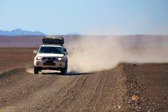 4x4 nel deserto Immagine Stock