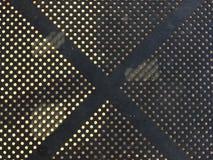 X (noir X) Photographie stock