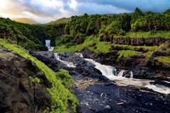 'Ohe'o Gulch- The 7 Sacred Pools Stock Image