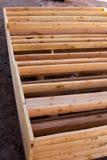2 x 6 painéis de quadro da construção Foto de Stock Royalty Free