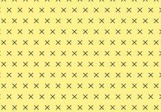 X-pattern. Crosses pattern. Geometrical  pattern for wallp Royalty Free Stock Image