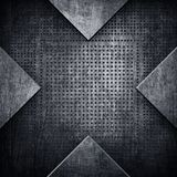 X pattern metal background Stock Photos