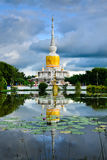 & x22; Phra那个Na Dun& x22;是地标MahaSarakham,泰国 图库摄影