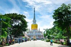& x22; Phra die Na Dun& x22; Oriëntatiepunt MahaSarakham stock foto