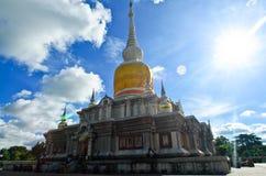 & x22; Phra Ten Na Dun& x22; Punkt zwrotny MahaSarakham Obraz Royalty Free