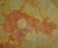 & x22;Prehistoric& x22; natural painting stock images