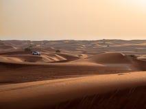 4x4 pustyni wiec Obrazy Royalty Free