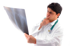 X-Ray Analyzing Royalty Free Stock Photo