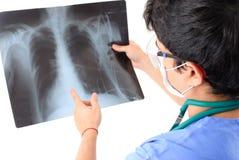 X-Ray Analyzing Royalty Free Stock Photo
