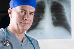 X-Ray And Doctor Stock Photography