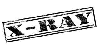 X ray black stamp Royalty Free Stock Image
