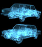 X-ray car Stock Photography
