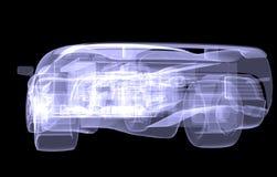 X-ray concept car Stock Photos
