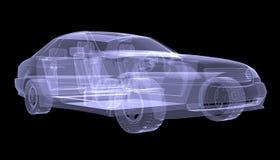 X-ray concept car Royalty Free Stock Photos