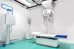 X Ray department room in hospital, Medical and Health care concept stock images