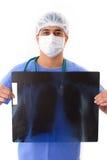 X-Ray Exam Royalty Free Stock Image
