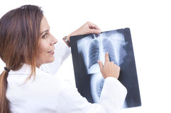 X-ray examination Royalty Free Stock Photos