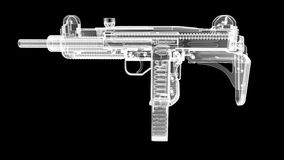 X Ray Gun Stockbild