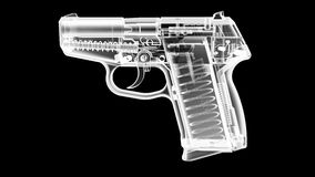 X Ray Gun Lizenzfreies Stockfoto