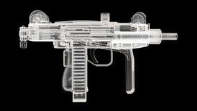 X Ray Gun Royaltyfri Bild