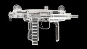 X Ray Gun Royalty Free Stock Image