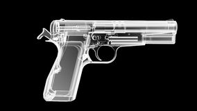 X Ray Gun Royalty Free Stock Photos