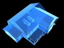 X-ray house Stock Photo