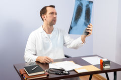 X-ray lungs Stock Image