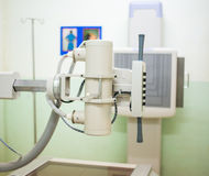 X-ray machine in hospital Royalty Free Stock Image