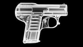 X Ray pistolet Zdjęcia Stock