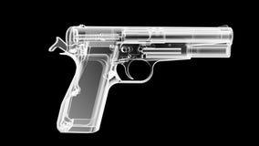 X Ray pistolet Zdjęcia Royalty Free