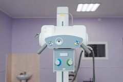X-ray room in a hospital ER operating room Stock Photo
