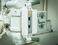 X-Ray system machine. In contemporary medical center Stock Photo