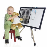 X-ray Tech with a Heart Royalty Free Stock Images