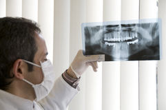X-ray Teeth Diagnostics Royalty Free Stock Photography